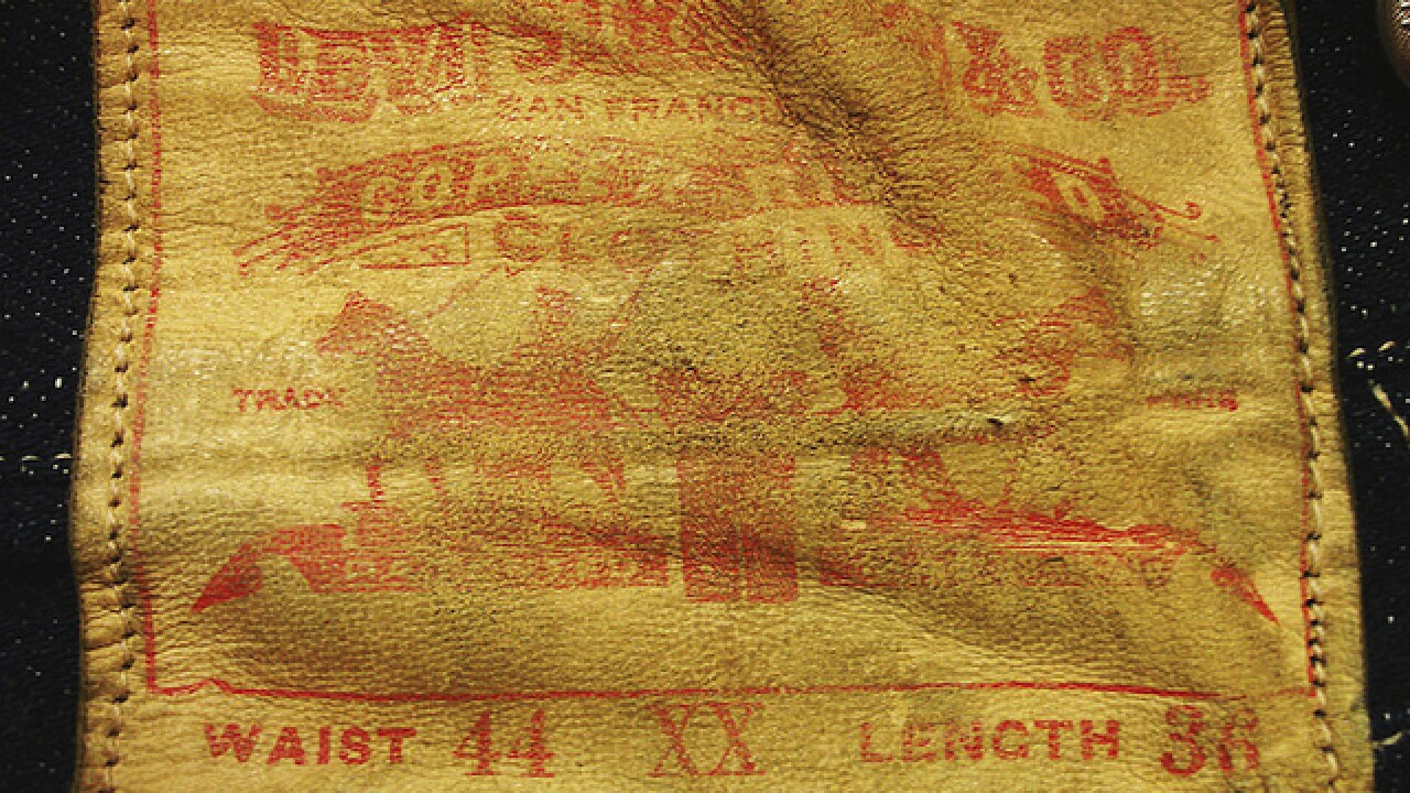 Pair of Levi's jeans from 1893 up for auction