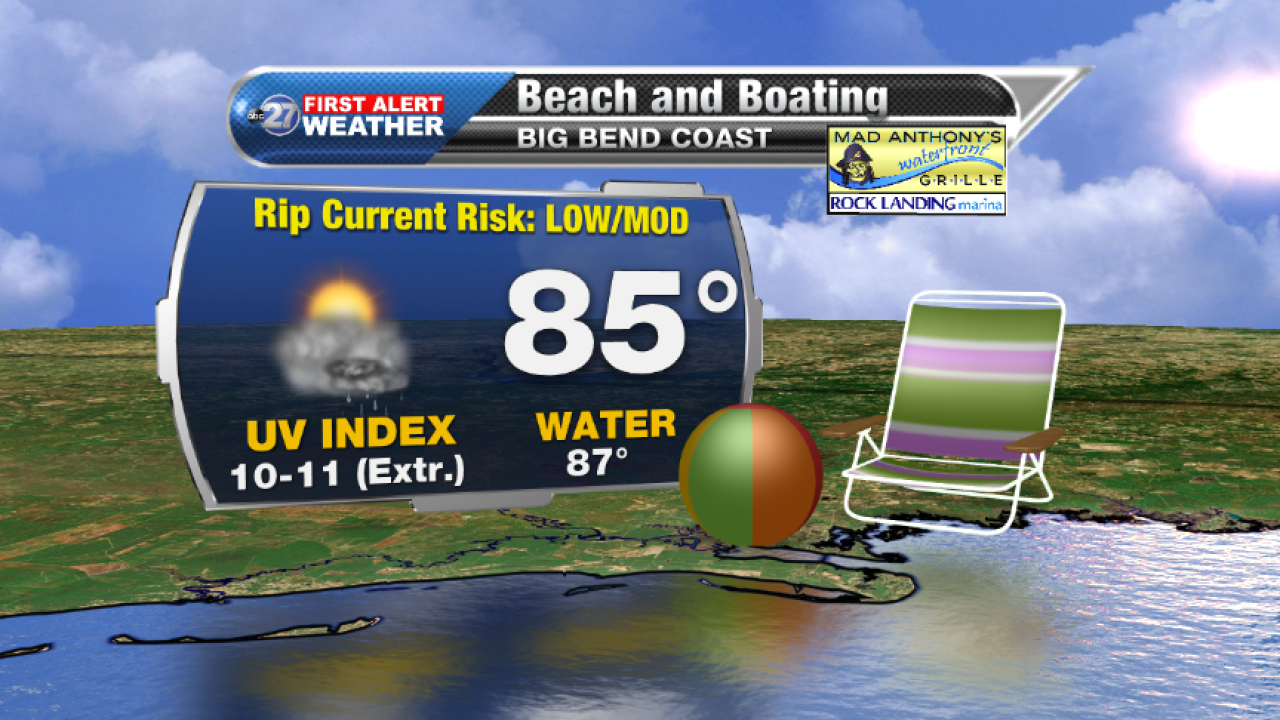 Beach and Boating forecast B (08/21/2017)