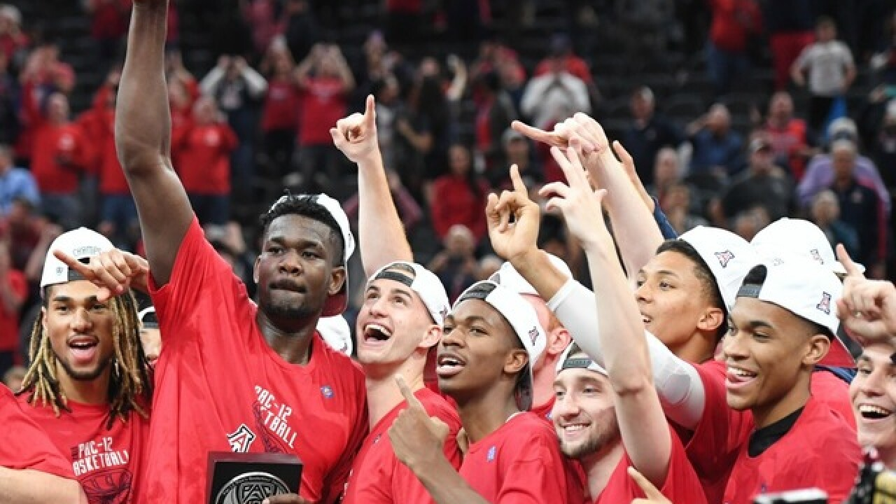 Deandre Ayton leads Arizona Wildcats to Pac-12 Tournament championship