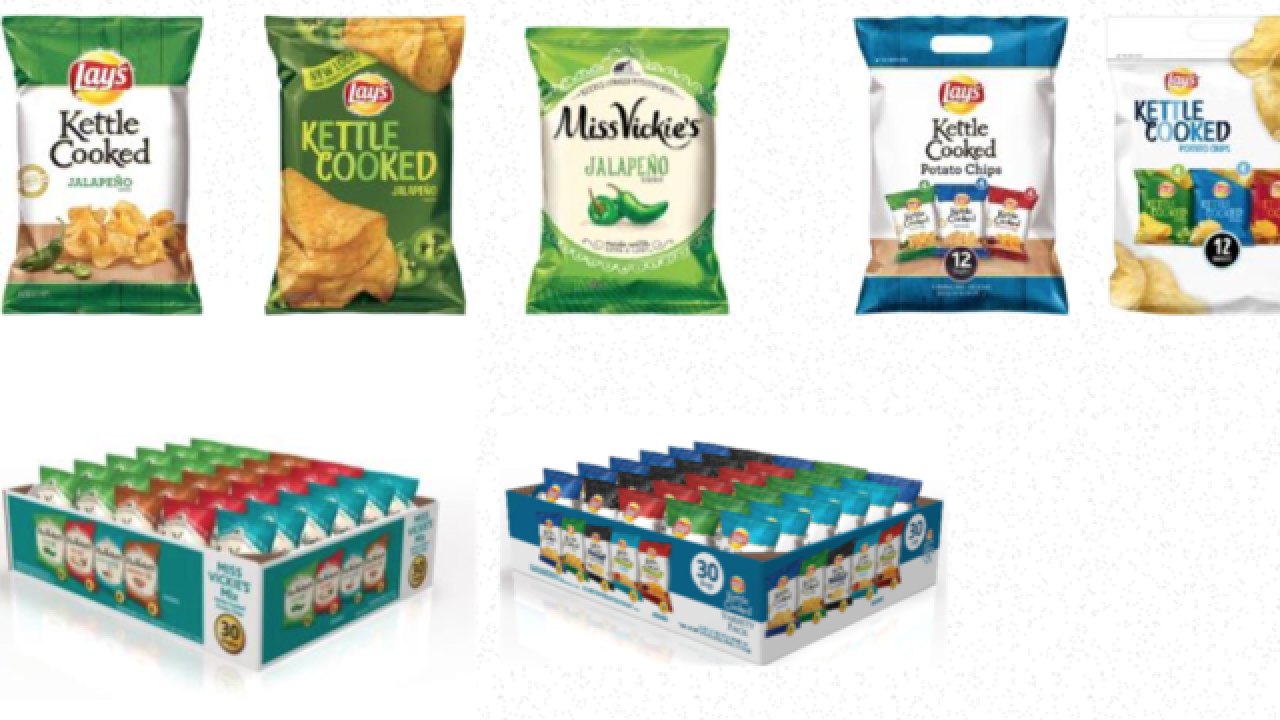 Frito-Lay issues nationwide recall on some chips due to possible salmonella