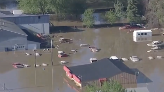 Michigan village not waiting for federal, state flood relief