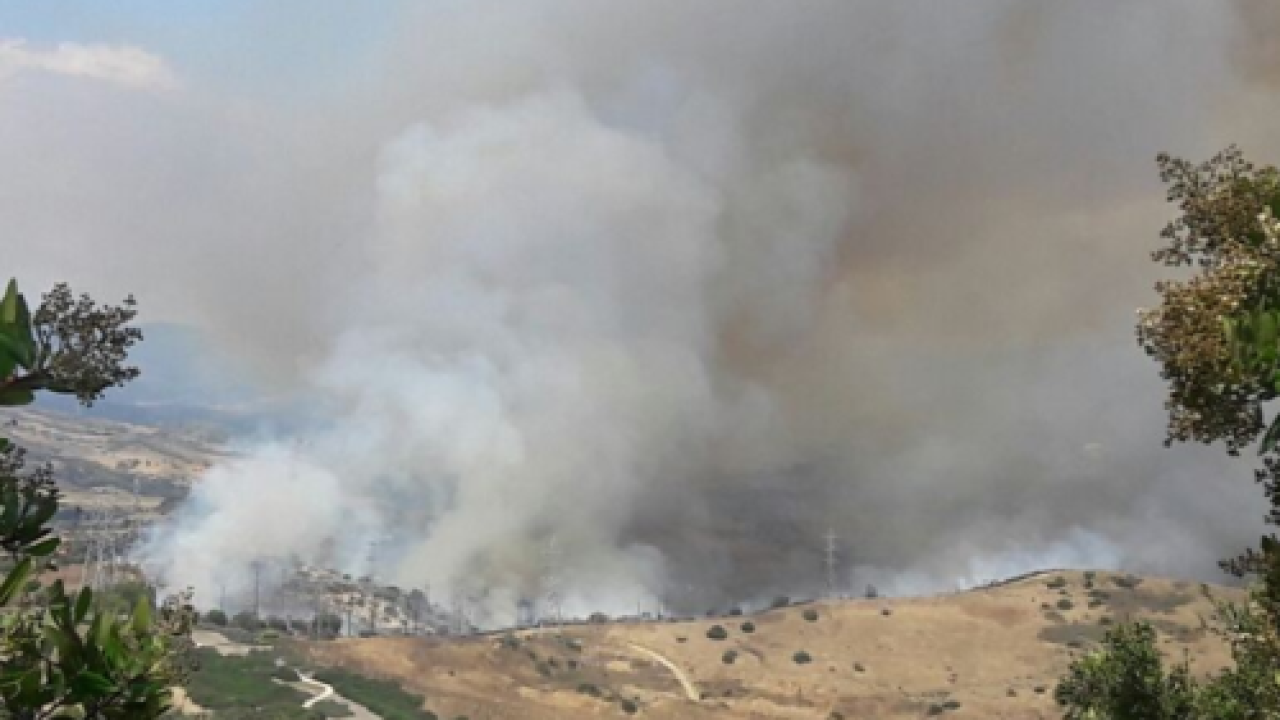 La Pata fire burns 25 acres north of Pendleton