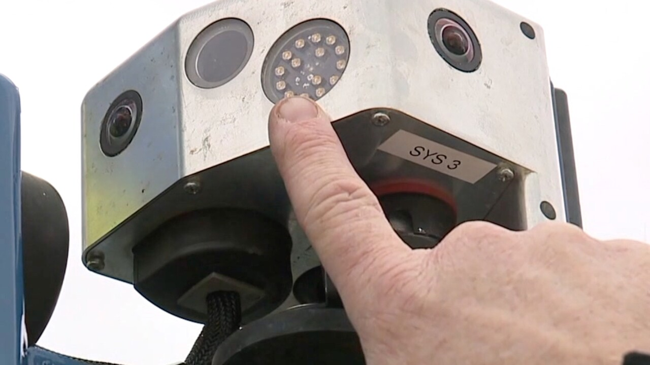 Macedonia cruiser hit, prompts call for Move Over Law camera enforcement