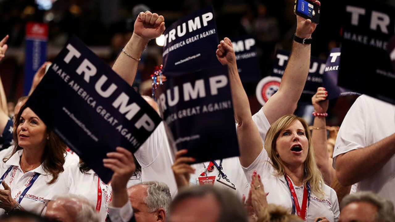 Trump's convention a gathering of angry, pessimistic white people