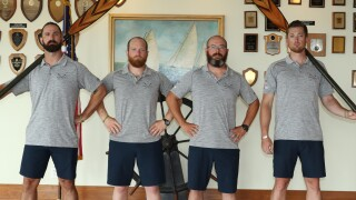 U.S. veterans row across Atlantic Ocean for mental health awareness