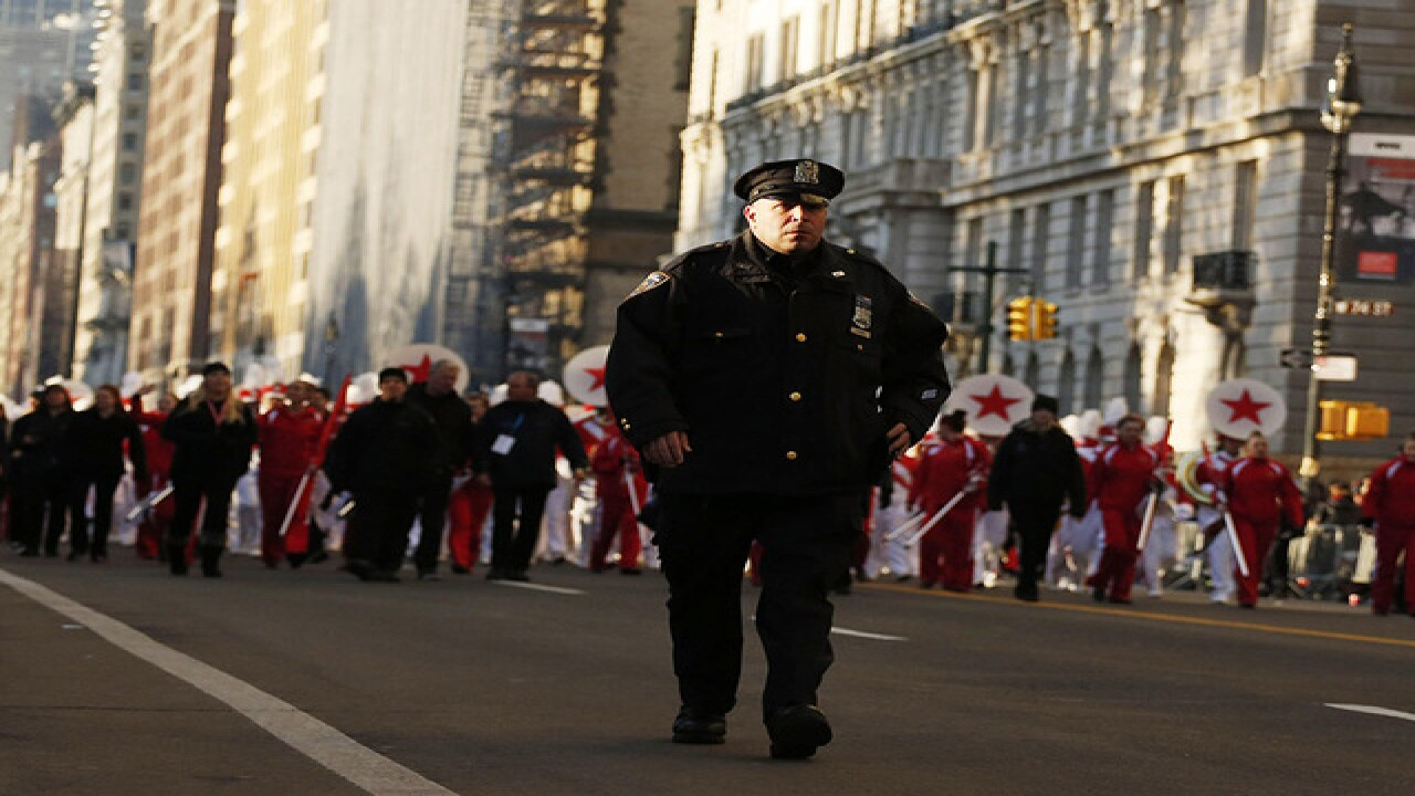 Record number of cops assigned to parade in NYC