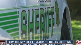 Kern County Sheriff reacts to Dallas shooting