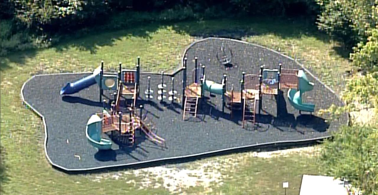 Crittenden-Mt. Zion Elementary School closed playground