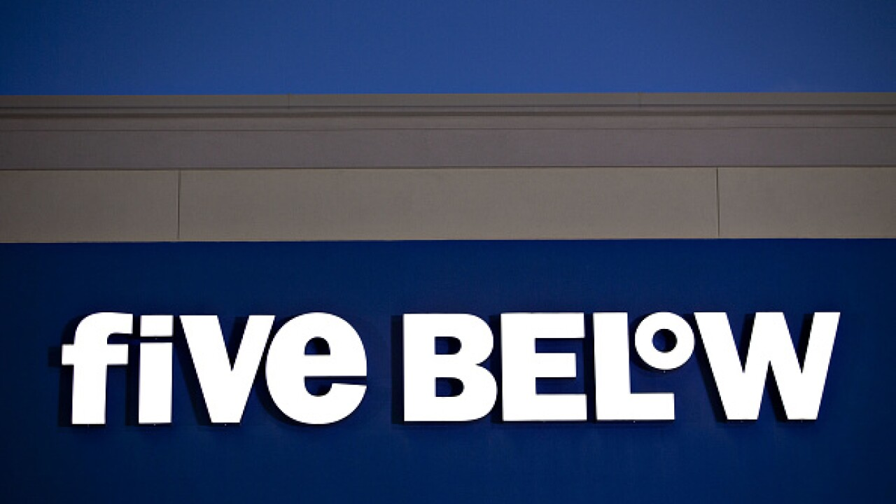 Five Below to begin selling items over $5