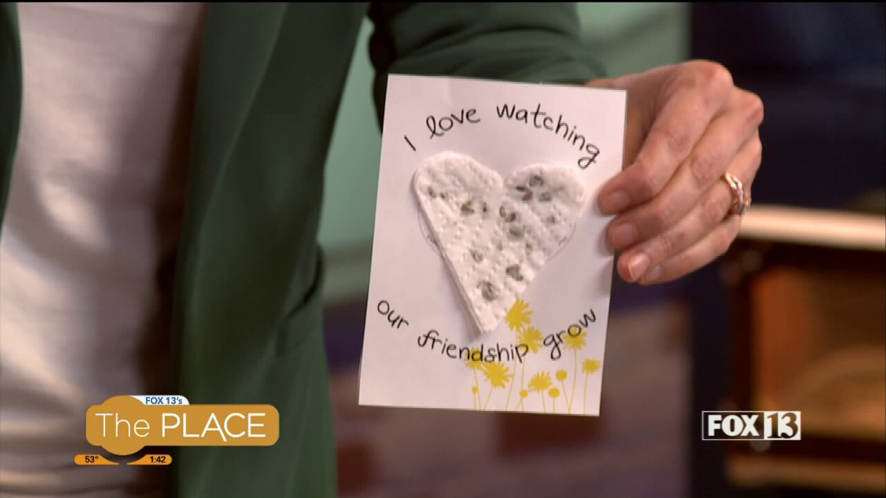 Plantable greeting cards are the gift that keeps ongrowing