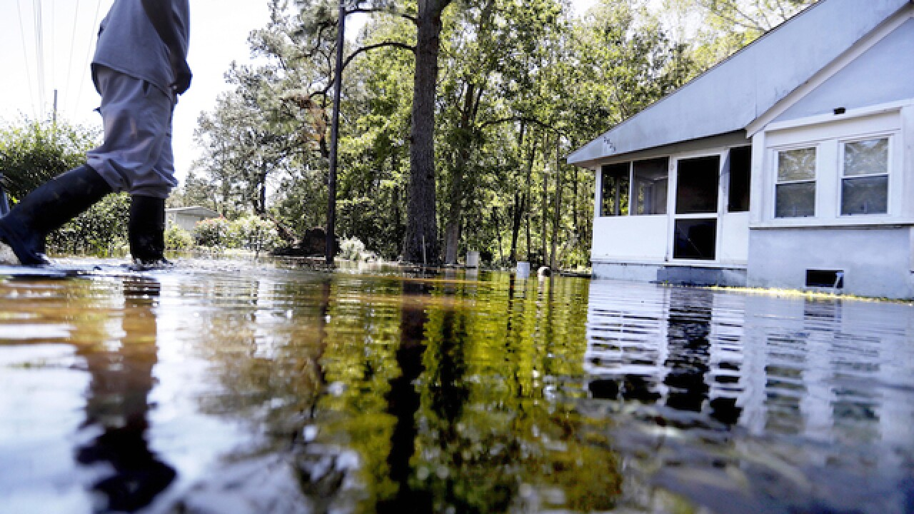Hurricane Matthew's punch still delivers pain to North Carolina