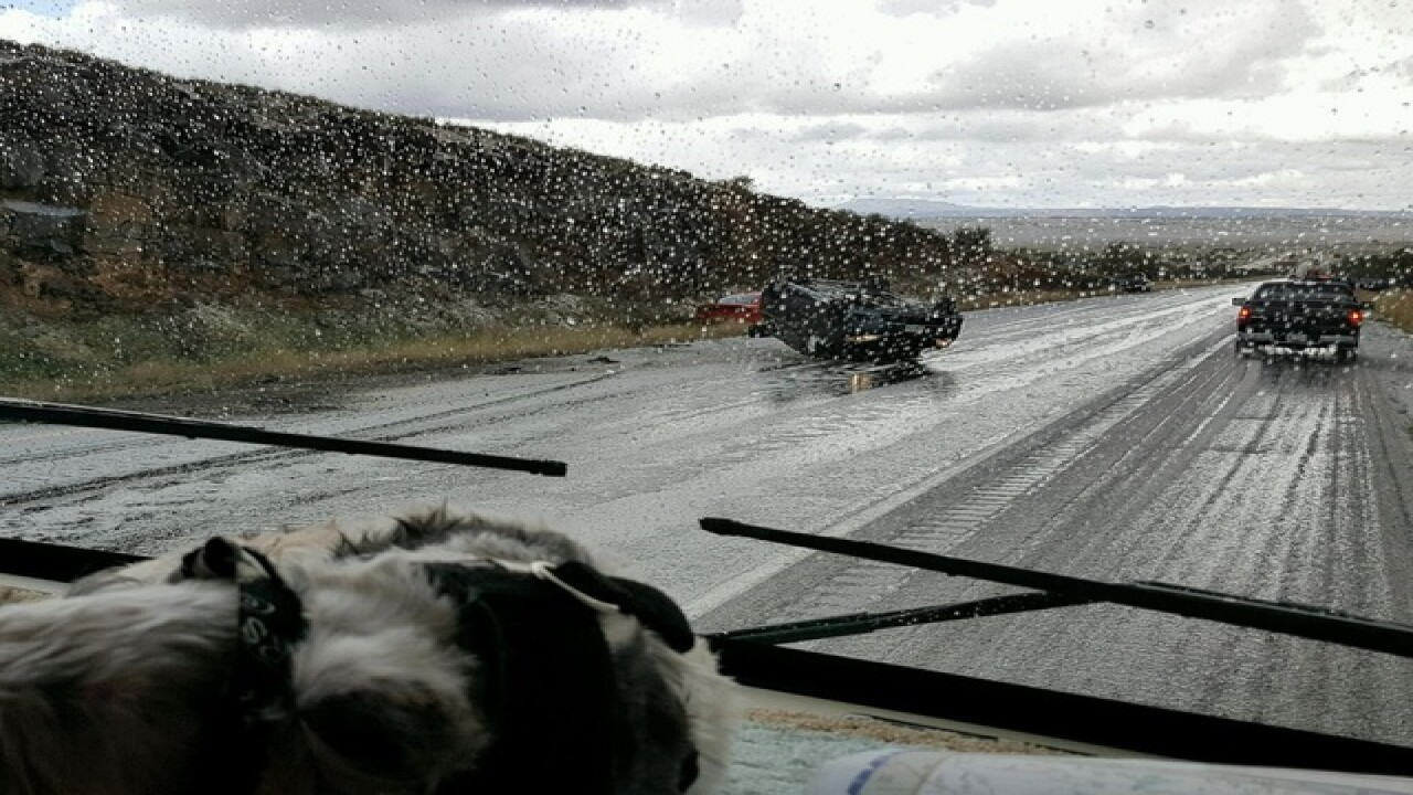 Deadly weather related crash closes I-40 in N.AZ