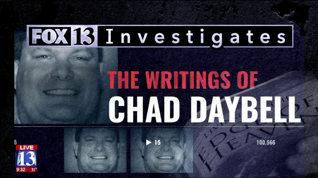 FOX 13 Investigates: Do Chad Daybell's books leave clues about missing Rexburg children?