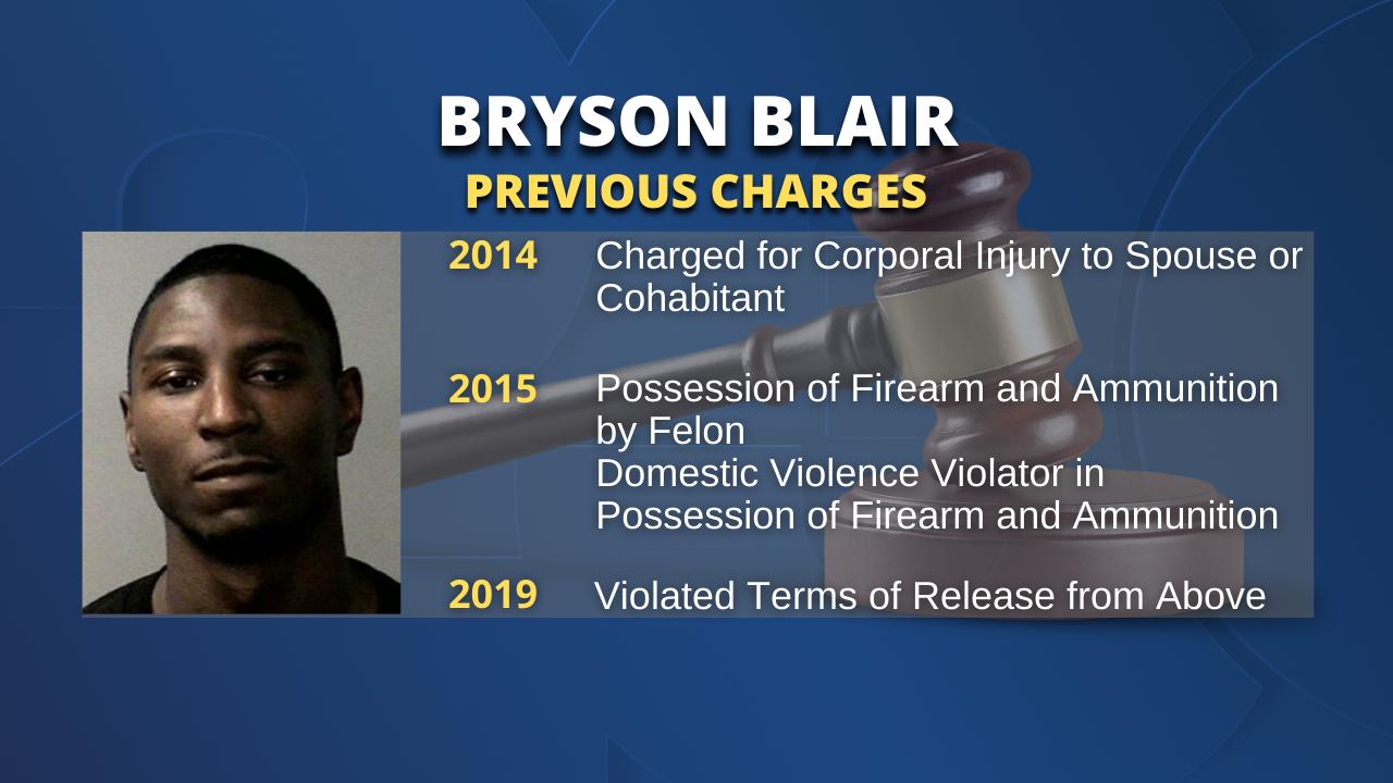 Bryson Blair's Criminal History