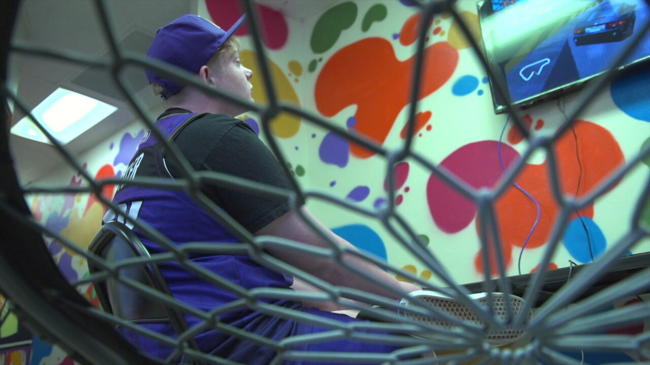 Teen touched by violence opens mental health lounge