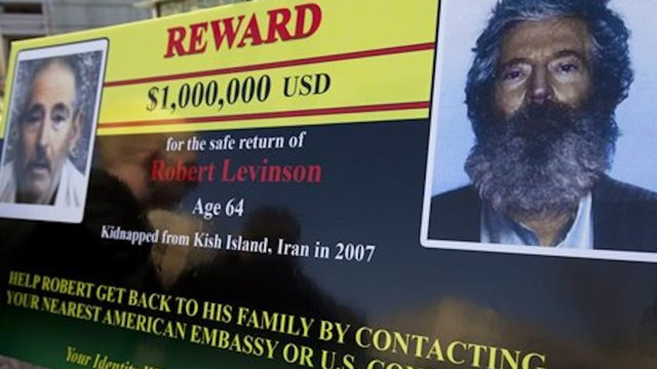 Family of American missing in Iran plans Florida rally