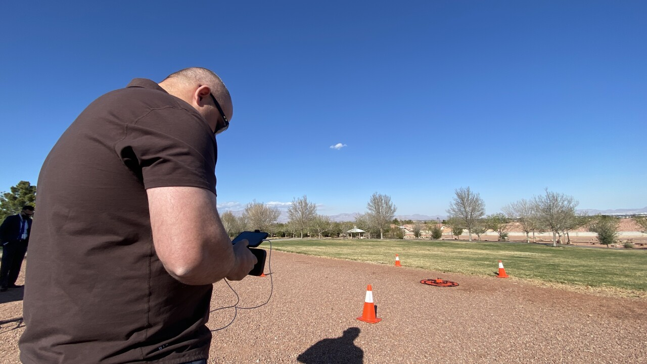 The Las Vegas Metropolitan Police Department is exploring new ways to incorporate drones in everything from documenting crimes to saving lives in search and rescue missions.