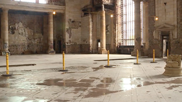 PHOTOS: Michigan Central Station gears up to host Detroit Homecoming