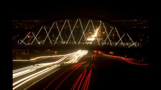 6th Ave bridge lights 2