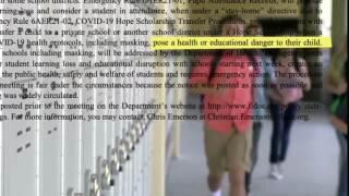 Florida Board of Education decision