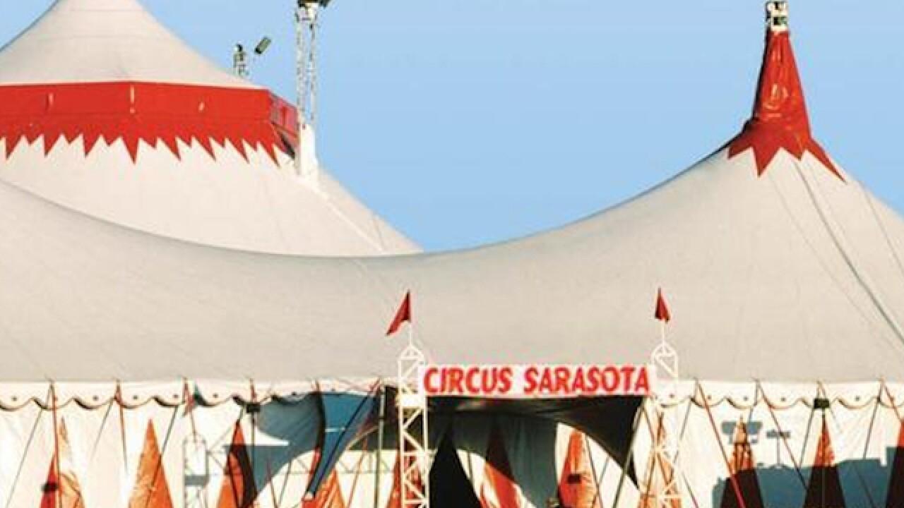 Several fall from tightrope at Florida circus