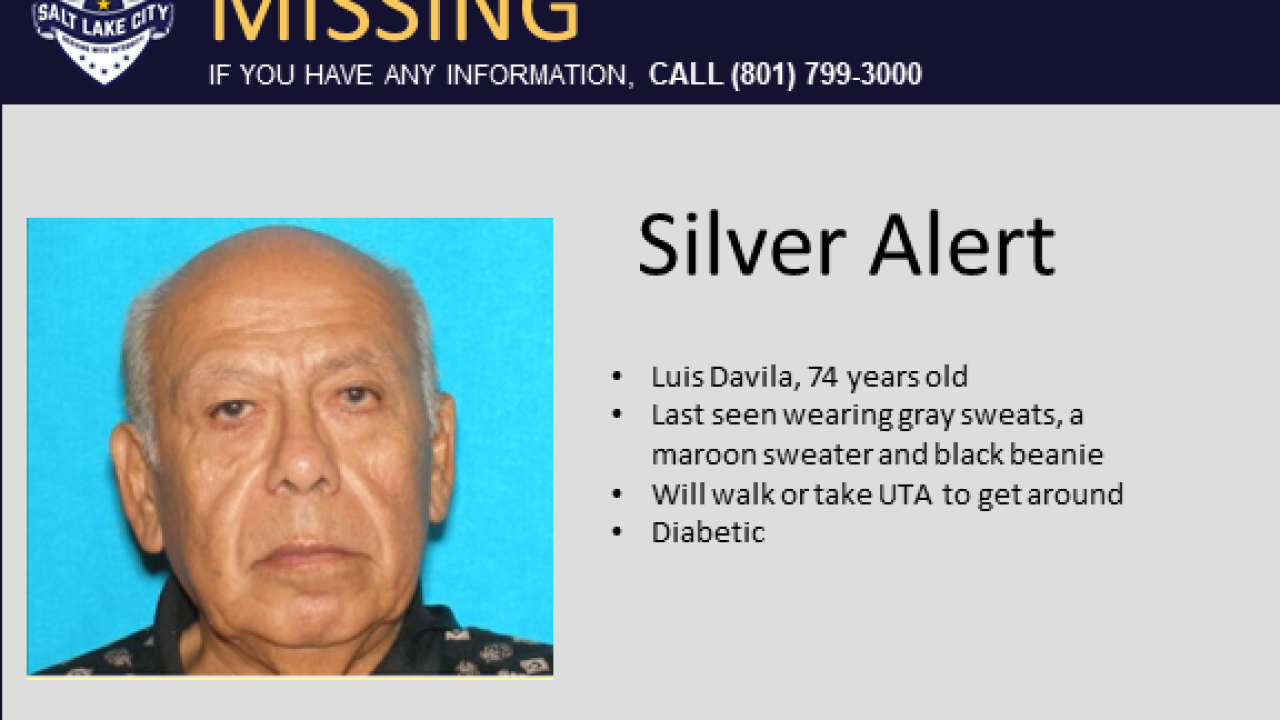 Update: 'Silver Alert' lifted after missing man located