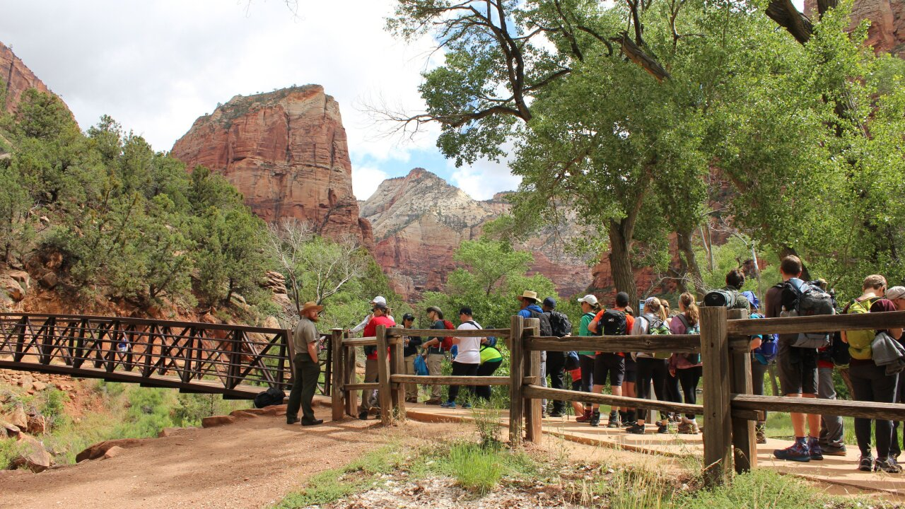 Zion overcrowded; hours-long wait for Angels Landing