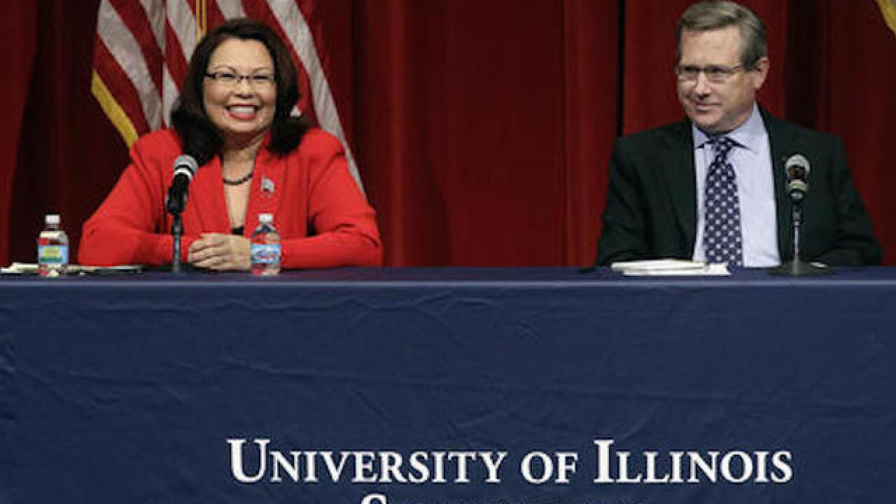 US Senate race in Illinois features heated debate