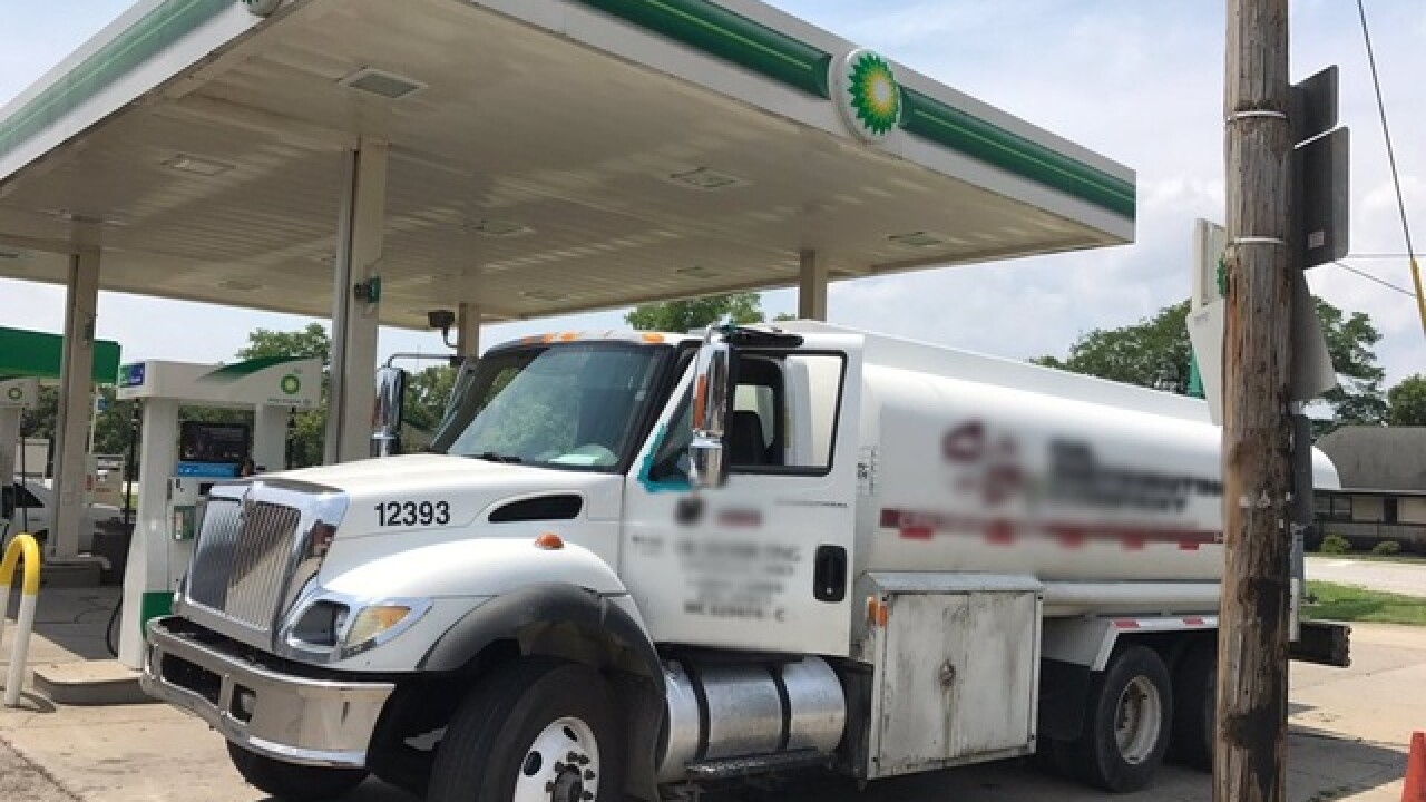 Police: Fuel truck driver OD'd at gas station