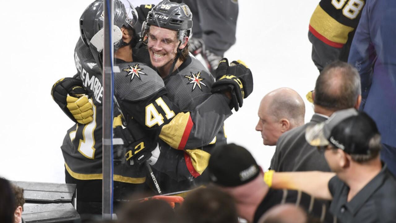 Vegas Golden Knights win Game 3 against Winnipeg