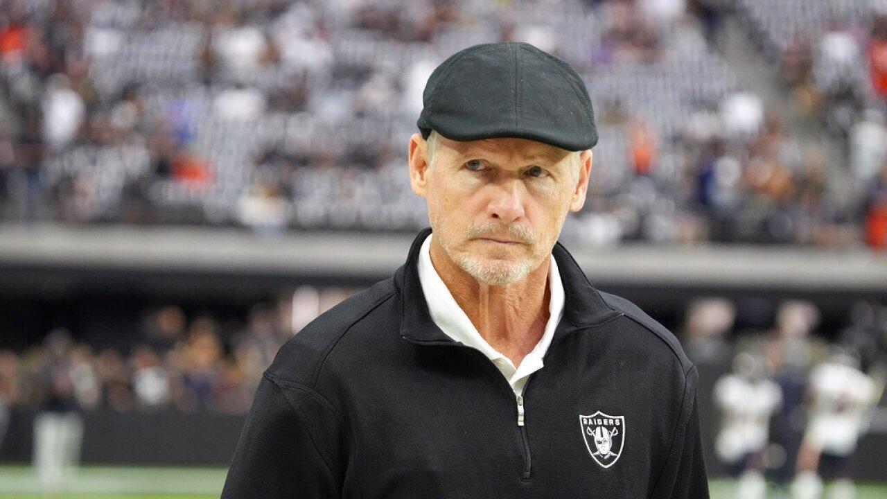 Bears Raiders Football GM Mike Mayock