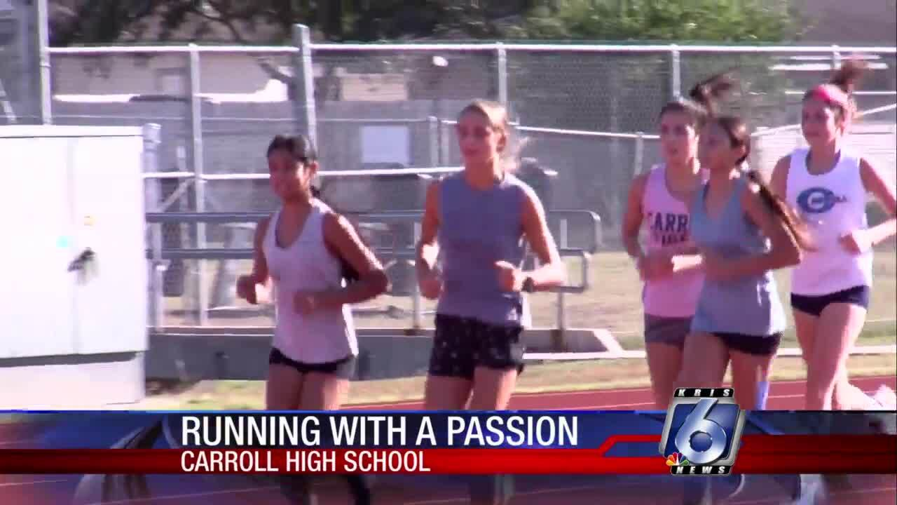 Carroll cross country addition blazing trail for Lady Tigers