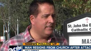 Gay man resigns from church to stop attacks