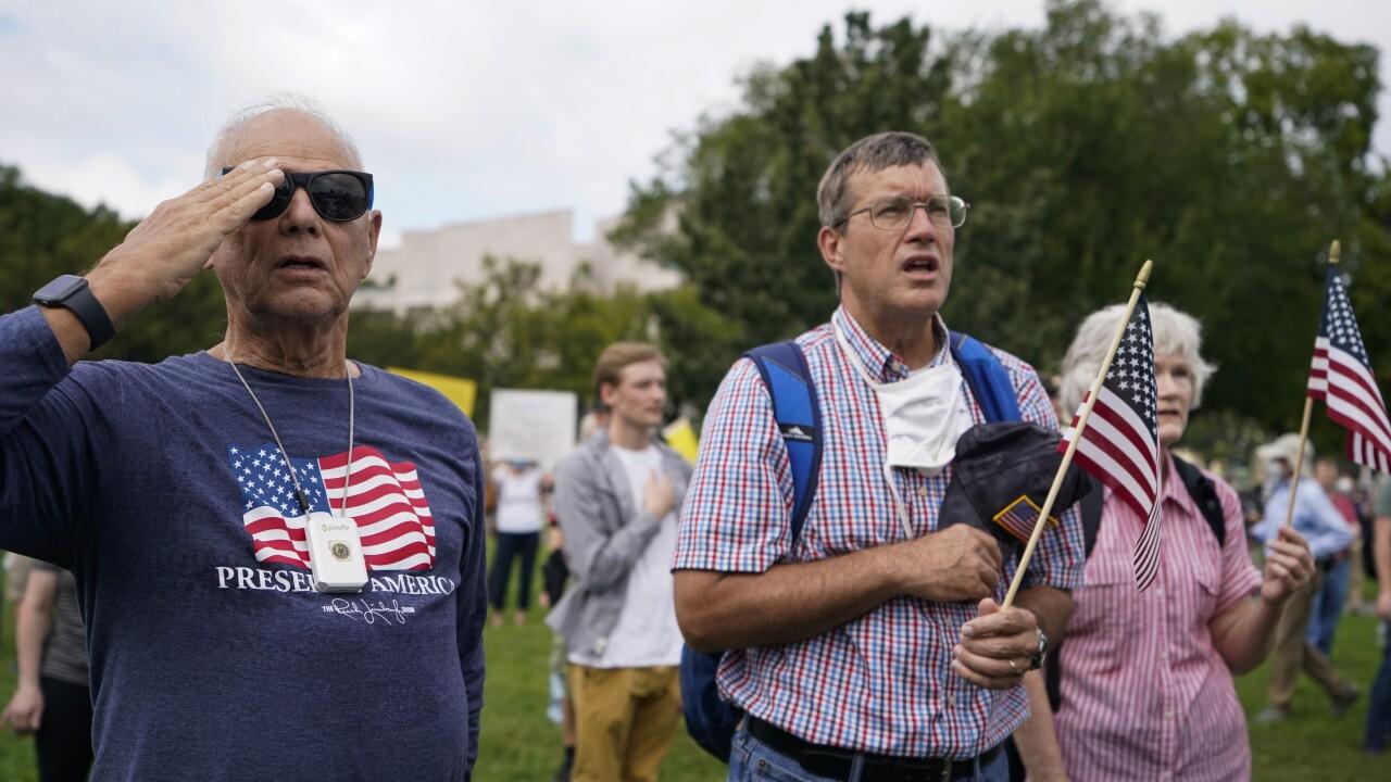Capitol Breach Rally