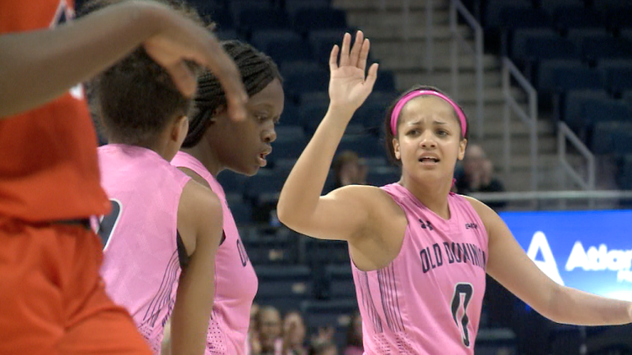 Lady Monarchs complete another comeback in emotional Hoops for the Curegame