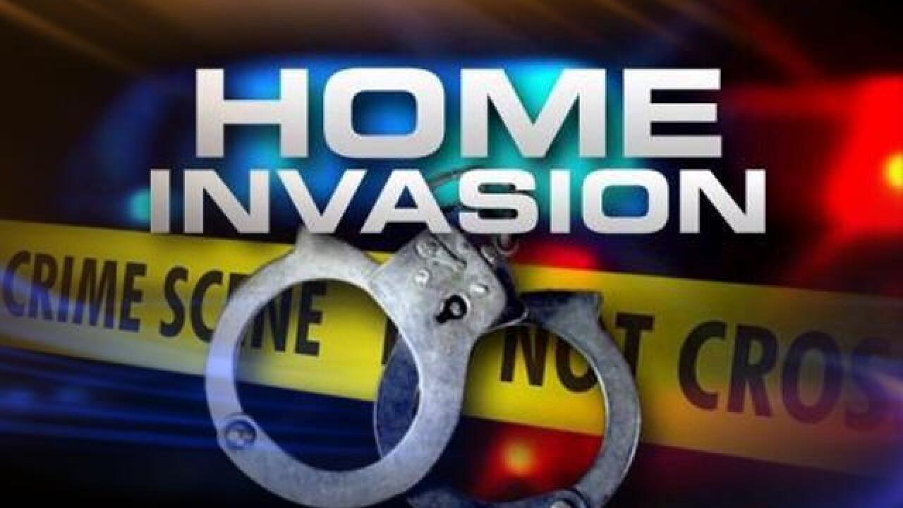 Police looking for home invasion suspect confronted by home owner, Wednesday