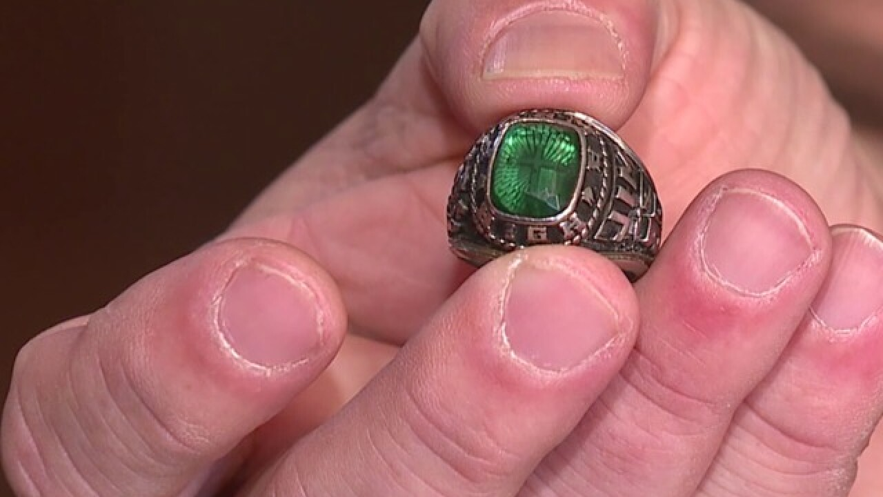 A Parma, Ohio teen lost his class ring. 30 years later, a woman in Parma, Michigan returned it