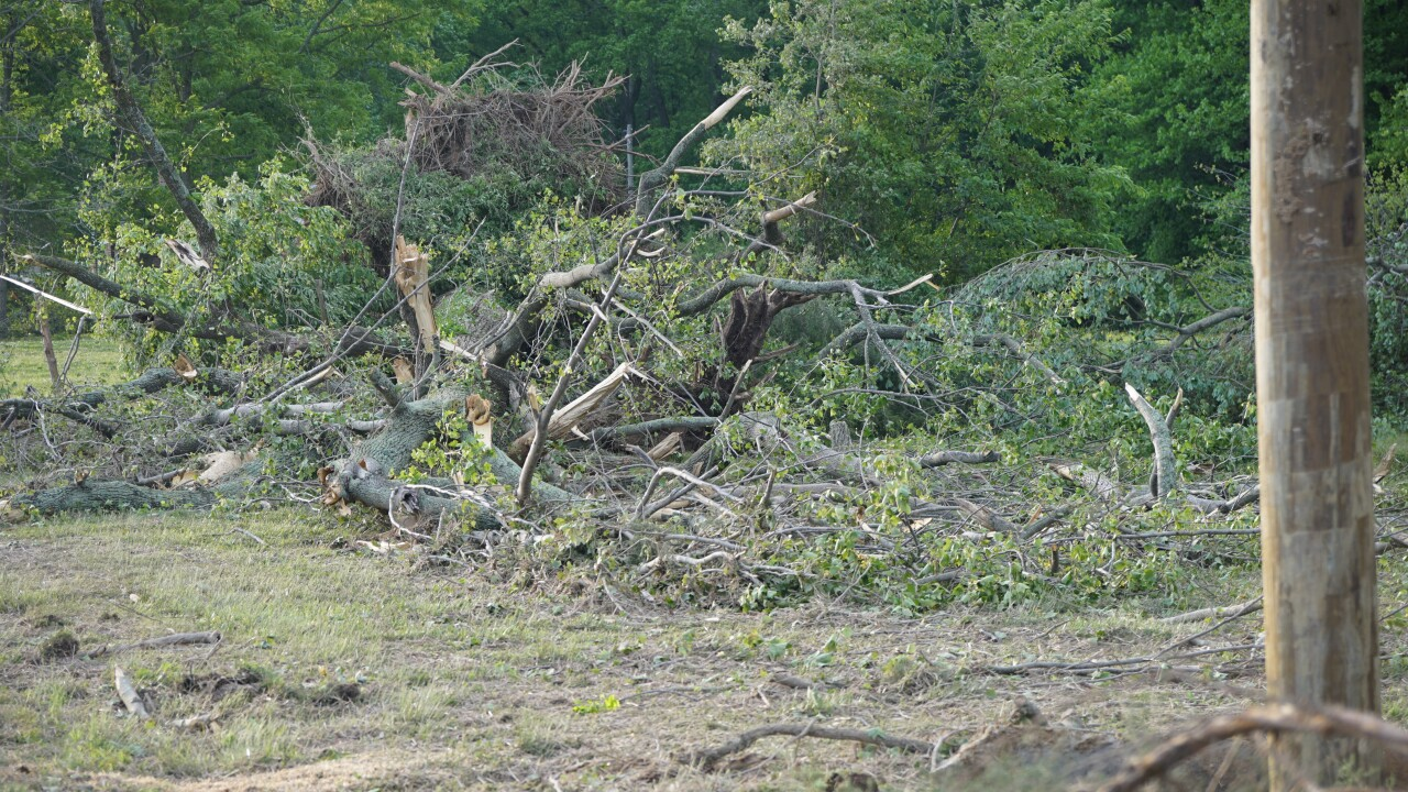 Likely tornado damages Northern Neck homes, knocks out power