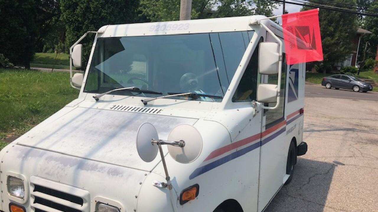 Police, postal service investigating menacing behavior