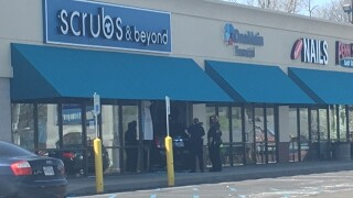 SUV crashes through store window on Indianapolis' southeast side