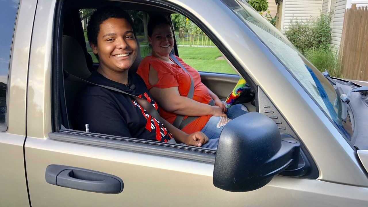 wooster teen buys mother a car .jpeg
