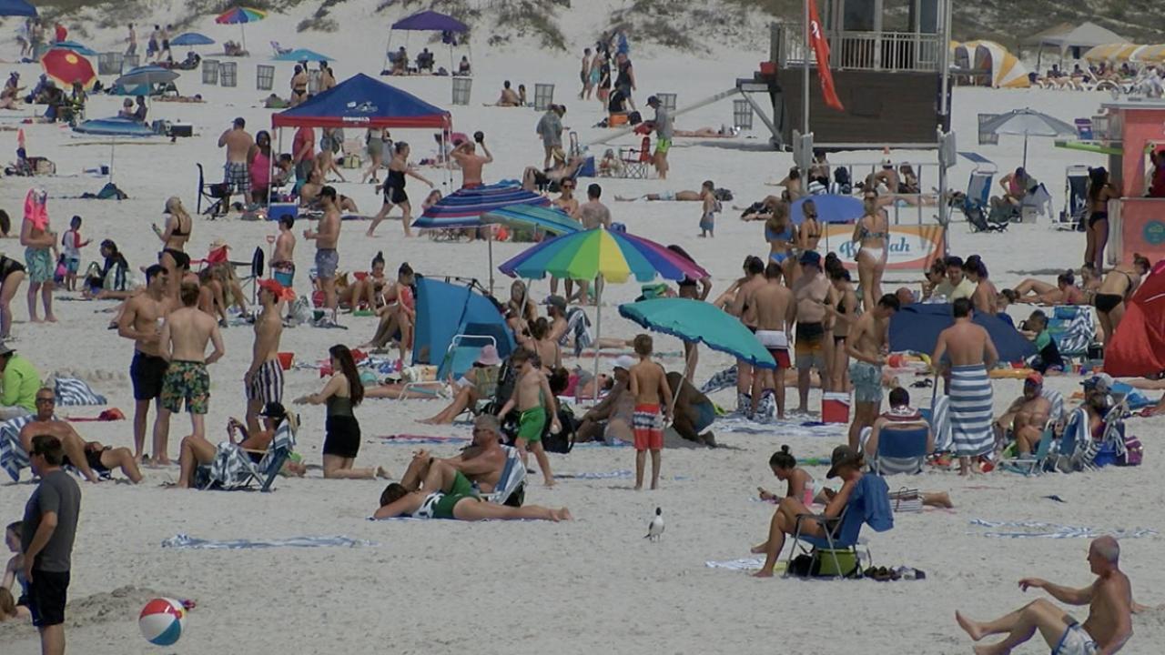 Florida city closes beach after vacationers defy coronavirus warnings