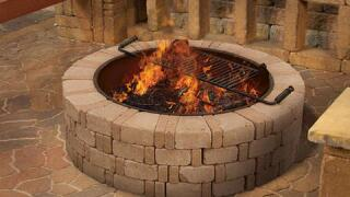 Menards Home Improvement Topic - Enjoy your new fire pit with friends