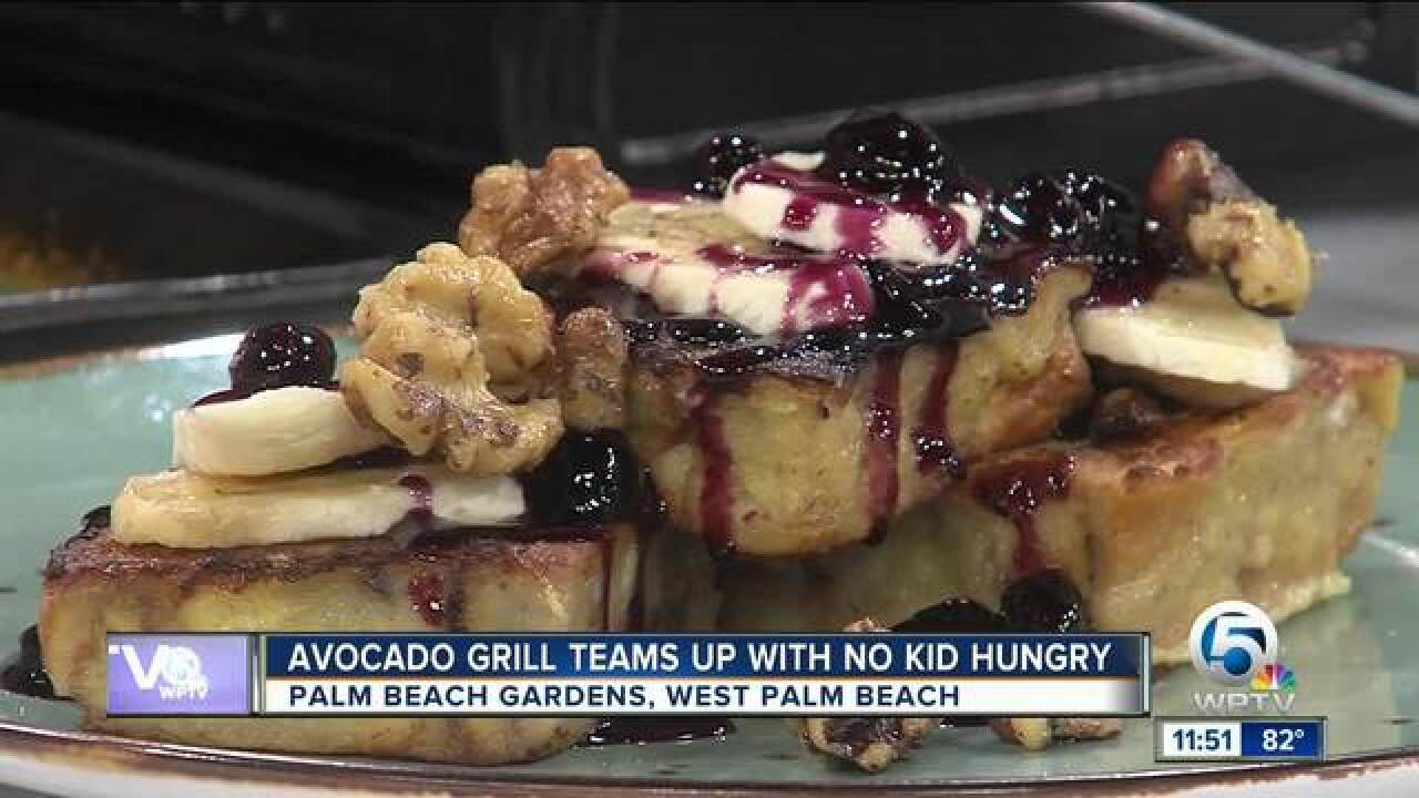 Avocado Grill teams up with No Kid Hungry