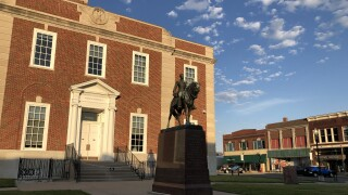 Andrew Jackson statue in Independence.jpg