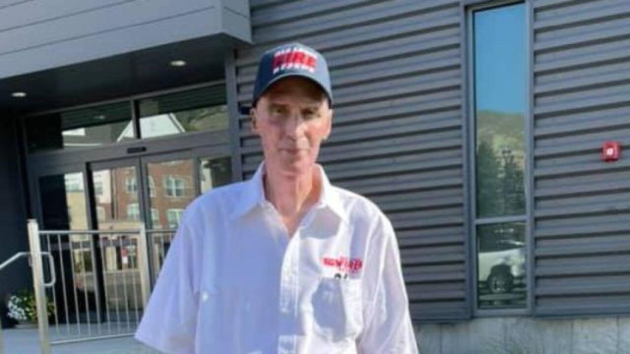Red Lodge firefighter Dan Steffensen