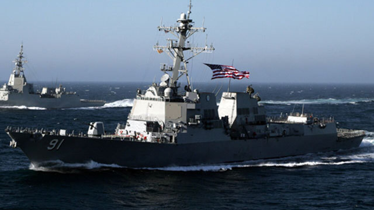 Navy sailor arrested for reportedly stealing grenades from San Diego-based ship