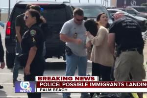 7 migrants in custody after landing in Palm Beach