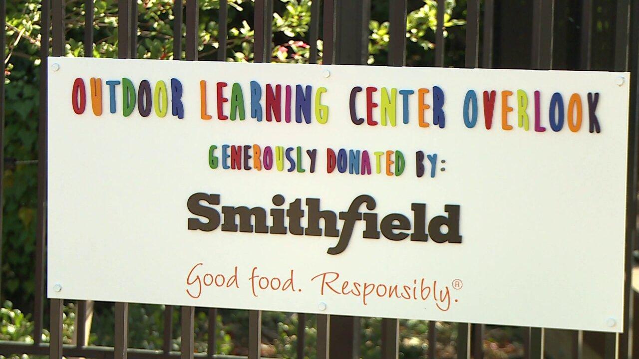 Faison Center unveils new 'inclusive' outdoor learningcenter