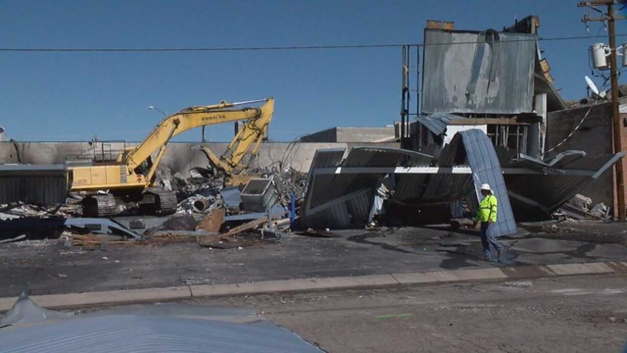 Explosion and fire at Tucson factory